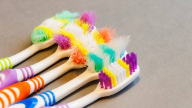 When to change your toothbrush