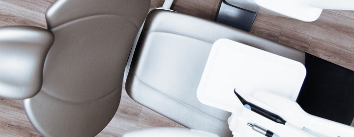A dental chair