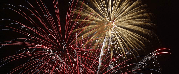 Vancouver Fireworks Show