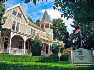 The Marshall House on Officer's Row